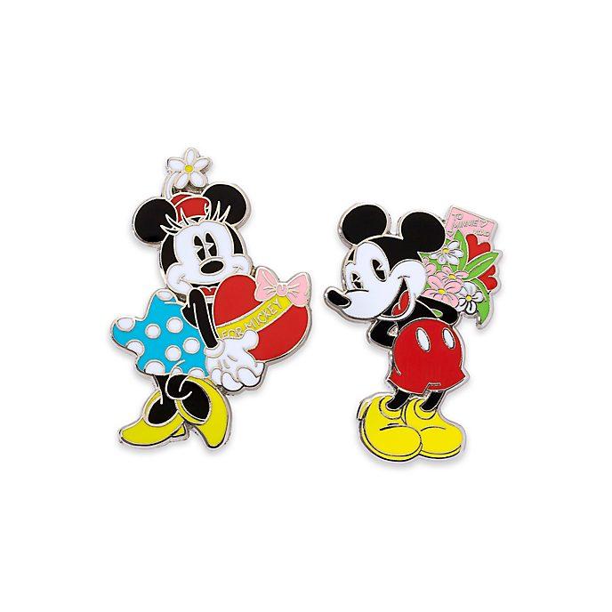 Disney Store Coffret de pin's Mickey et Minnie
