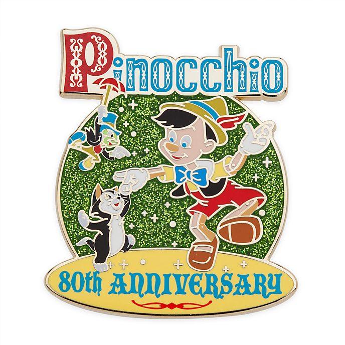 Disney Store Pinocchio Legacy 80th Anniversary Pin