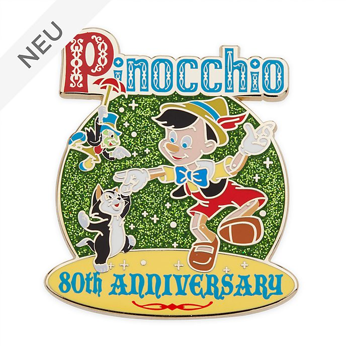 Disney Store - Legacy Collection - Pinocchio - Anstecknadel zum 80.Geburtstag