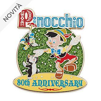 Pin 80° anniversario Legacy Pinocchio Disney Store