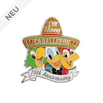 Disney Store - Drei Caballeros - Anstecknadel zum 75.Geburtstag