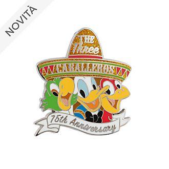 Pin 75° anniversario I tre Caballeros Disney Store