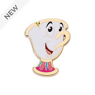 Disney Store Chip Pin, Beauty and the Beast