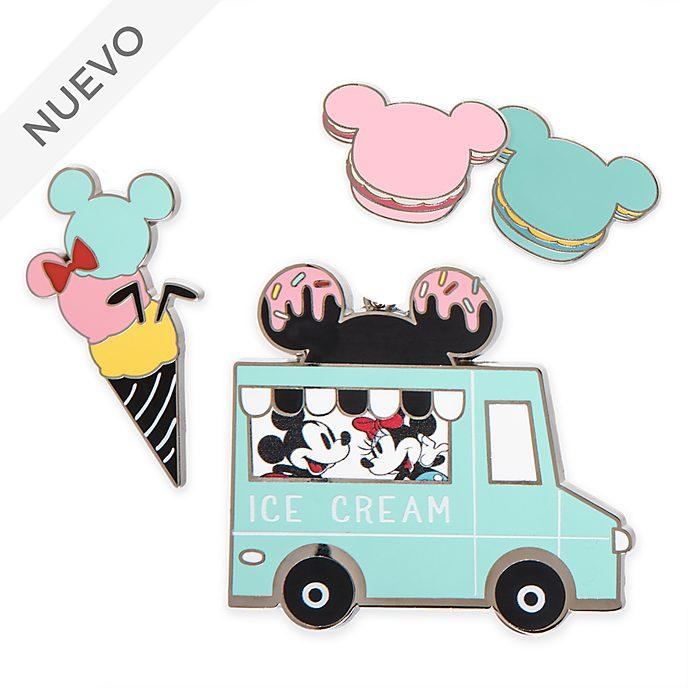 Set pins Mickey y Minnie, Disney Eats, Disney Store