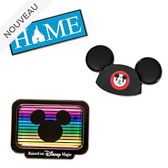 Disney Store Coffret de pin's Mickey Mouse Club