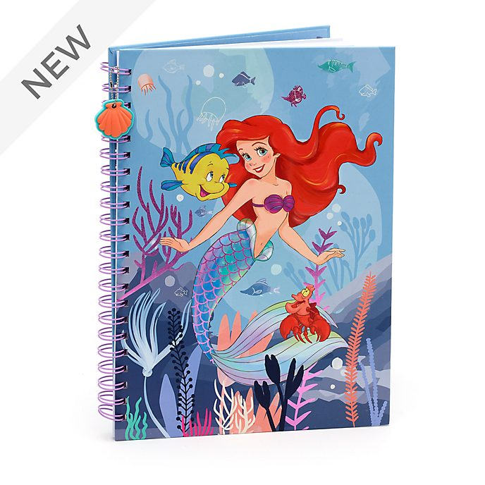 Disney Store The Little Mermaid A4 Notebook