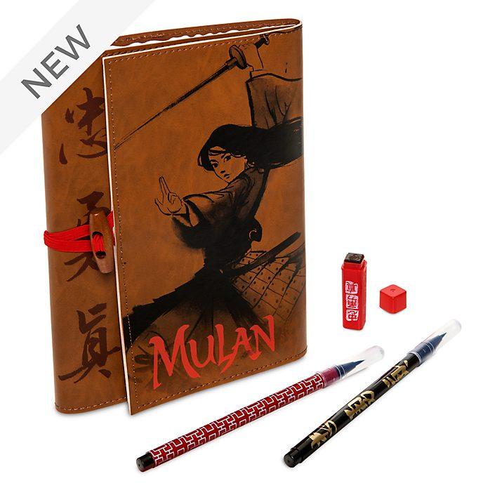 Disney Store Mulan A5 Padfolio