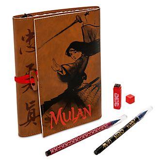 Disney Store Padfolio Mulan A5