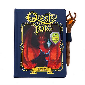 Diario A5 réplica Quests of Yore, Onward, Disney Store