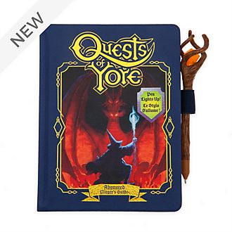 Disney Store Quests of Yore A5 Replica Journal, Onward