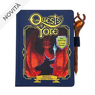Taccuino A5 Replica del libro Quests of Yore Onward - Oltre La Magia Disney Store