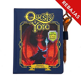 Diario A5 réplica Quests of Yore, Onward, Disney Store