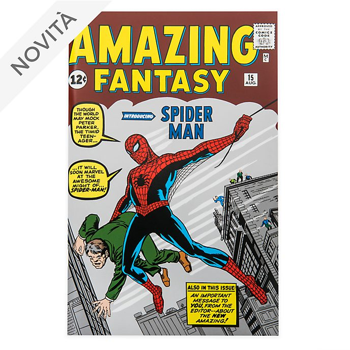 Taccuino Spider-Man con fumetto Amazing Fantasy Disney Store