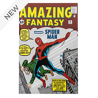 Disney Store Amazing Fantasy Spider-Man Comic Journal