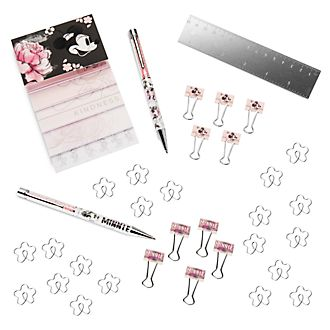 Disney Store Positively Minnie Stationery Set