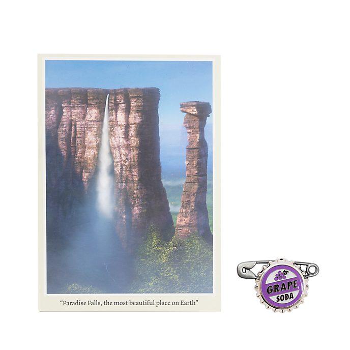 Disney Store Coffret de pin's avec carte postale Là-haut