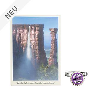 Disney Store - Oben - Set aus Postkarte und Anstecknadel