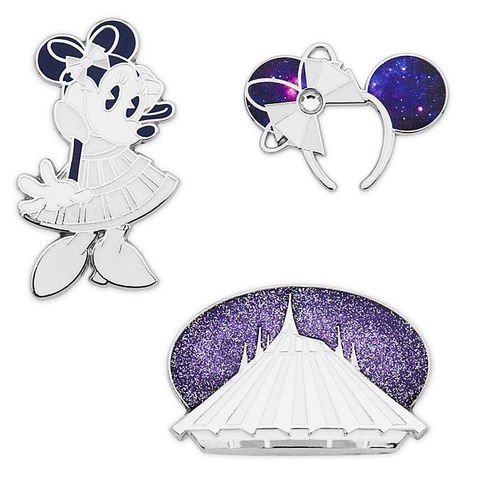 Disney Store Coffret de pin's Minnie, série The Main Attraction, 1sur12
