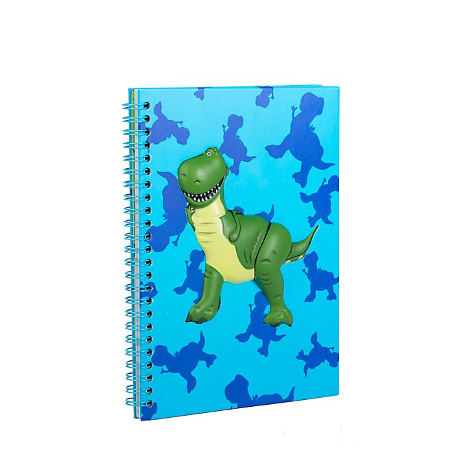 Disney Store Rex A5 Notebook, Toy Story