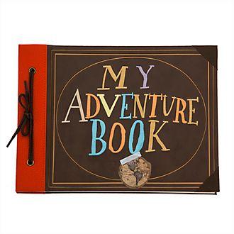 Diario A4 réplica libro aventuras, Up, Disney Store