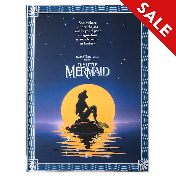 Disney Store The Little Mermaid Film Poster Journal