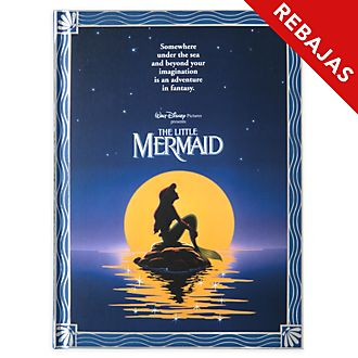 Diario póster película La Sirenita, Disney Store