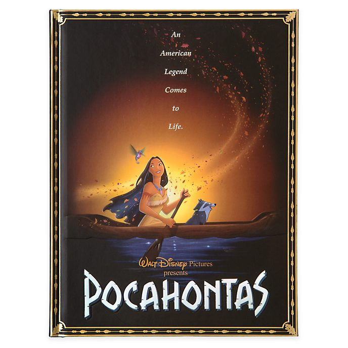 Disney Store Pocahontas Film Poster Journal