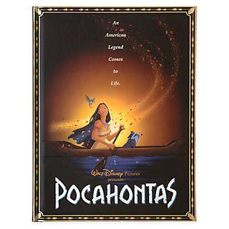 Diario poster del film Pocahontas Disney Store