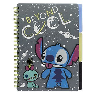 Disney Store Stitch Notebook and Folder Set