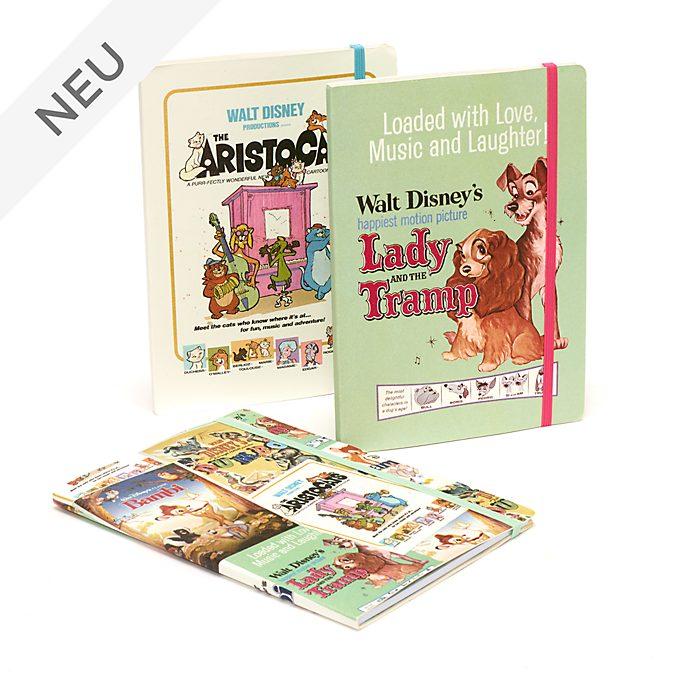 Disney Store - Disney Classics - Notizbücher im Filmposterdesign, 3-teiliges Set