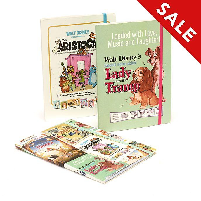 Disney Store Disney Classics Film Posters Journals, Set of 3