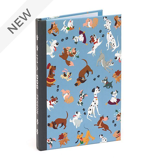Disney Store Disney Dogs Notebook and Sticky Notes Set