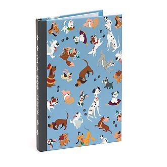 Disney Store Disney Dogs Notebook and Sticky Notes Set