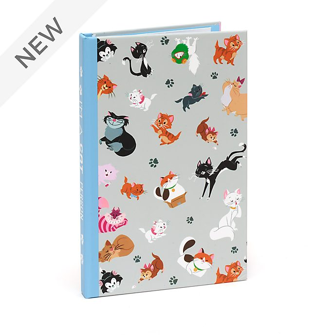 Disney Store Disney Cats Notebook and Sticky Notes Set