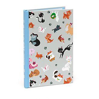 Disney Store Ensemble bloc-notes et bloc de feuilles adhésives Les chats de Disney