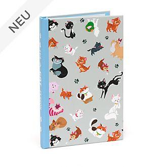Disney Store - Disney Katzen - Set aus Notizbuch und Haftnotizzetteln