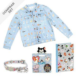 Colección accesorios y artículos papelería gatos Disney para adultos, Disney Store