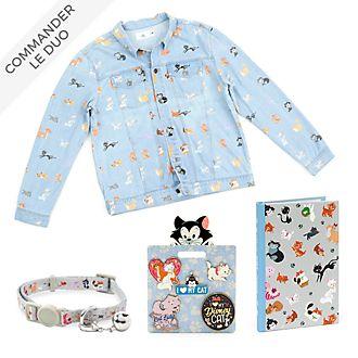 Disney Store Collection d'articles de bureau et accessoires Disney Cats pour adultes