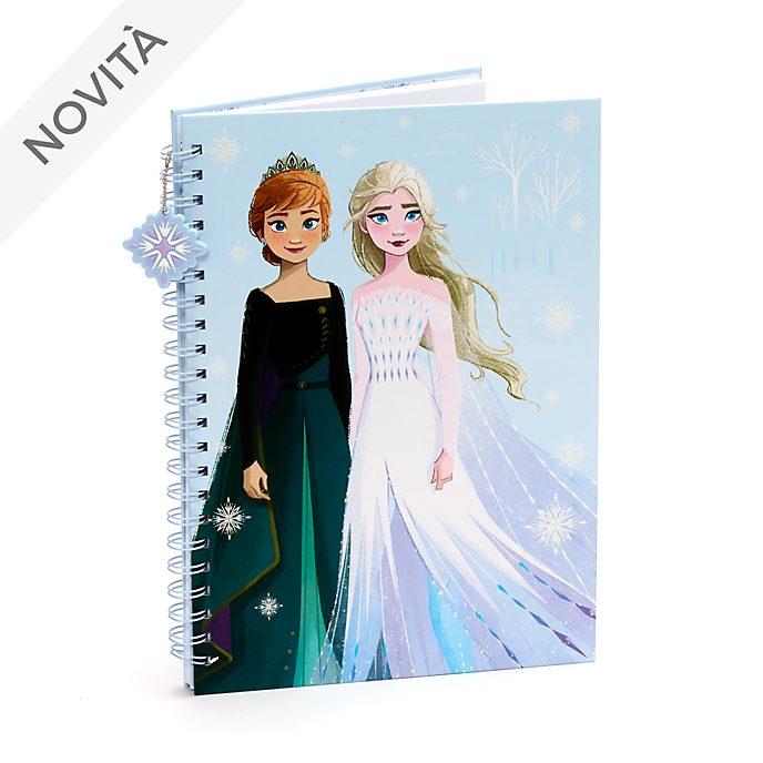 Quaderno A4 Anna ed Elsa Frozen 2: Il Segreto di Arendelle Disney Store
