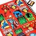 Disney Store Cahier A4 Marvel Comics