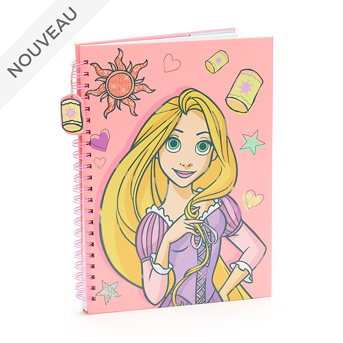 Disney Store Cahier A4 Raiponce