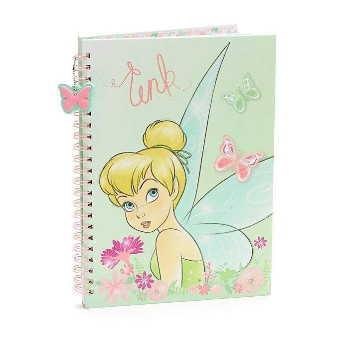 Disney Store Tinker Bell A4 Notebook, Peter Pan