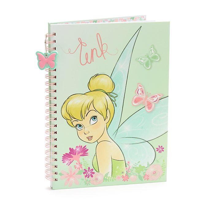 Disney Store - Peter Pan - Tinkerbell - A4-Notizbuch