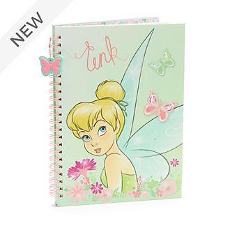 Disney Store Tinker Bell A4 Notebook, Peter Pan