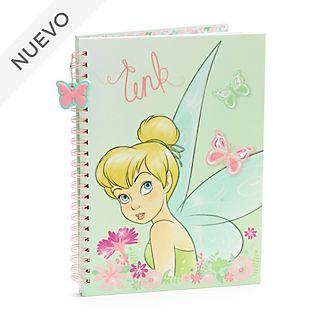 Cuaderno A4 Campanilla, Peter Pan, Disney Store
