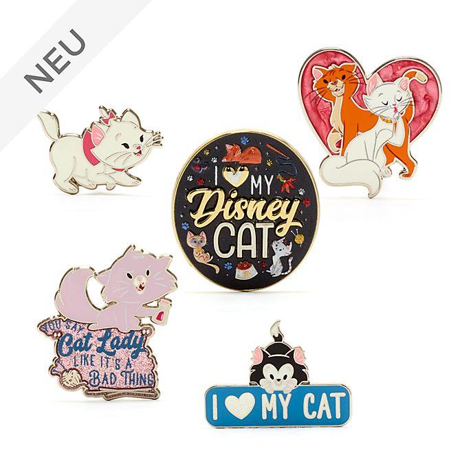 Disney Store - Disney Katzen - Anstecknadelset