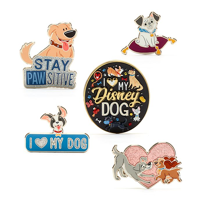Set di pin Cani Disney, Disney Store