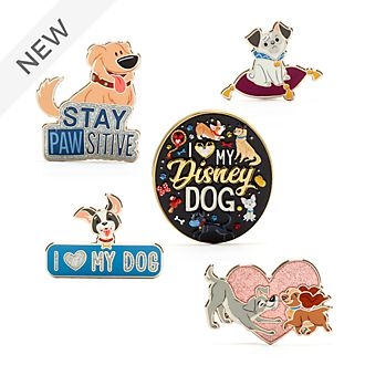 Disney Store Disney Dogs Pin Set