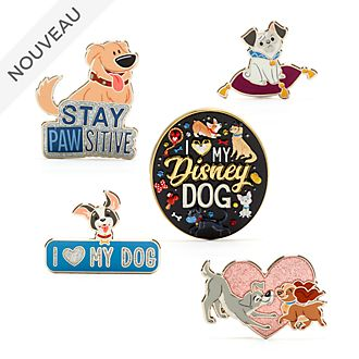 Disney Store Disney Ensemble de pin's Les chiens de Disney Store