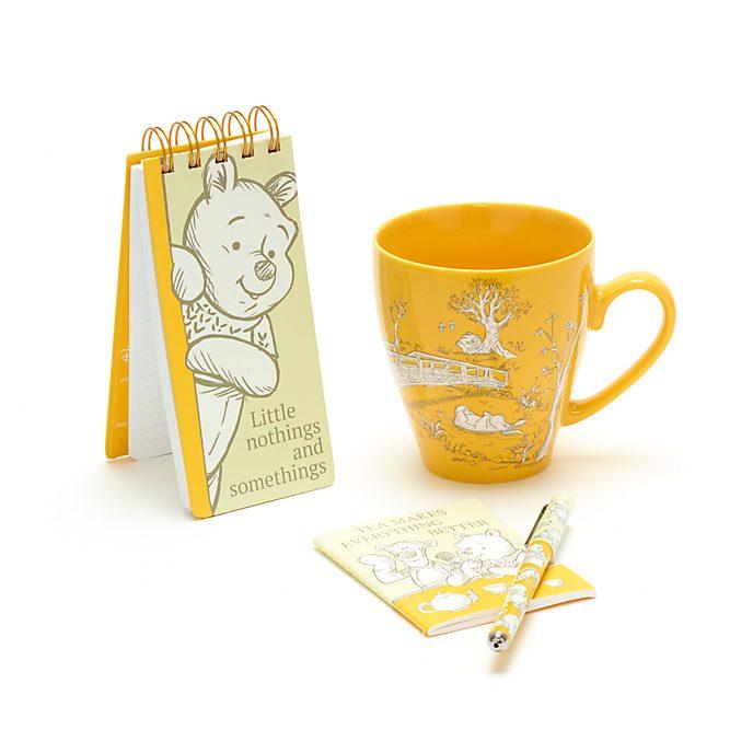 Disney Store Winnie the Pooh Notebook and Mug Gift Set